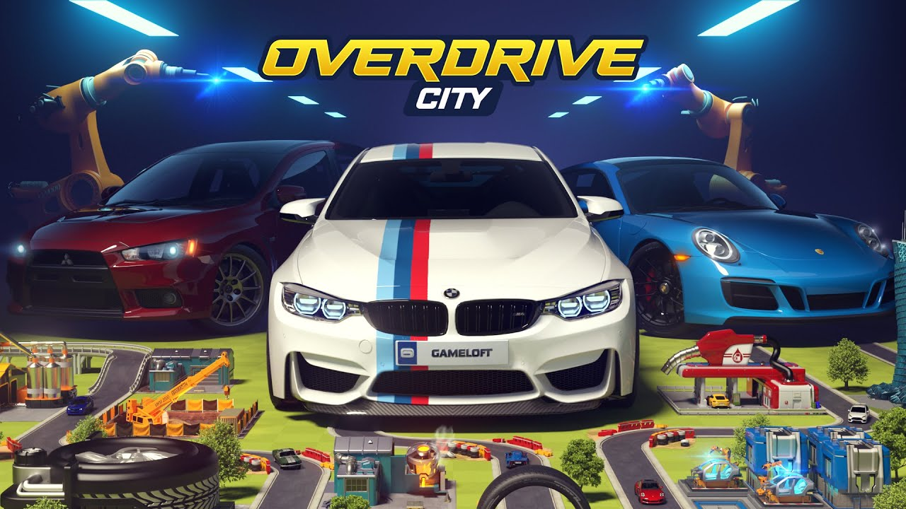 Overdrive City – Araba Şehrini Kur