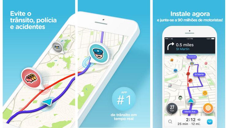 Waze GPS, Haritalar & Trafik uygulaması